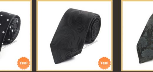cicek-desenli-siyah-kravatlar