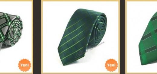 ekose-yesil-kravat-modelleri
