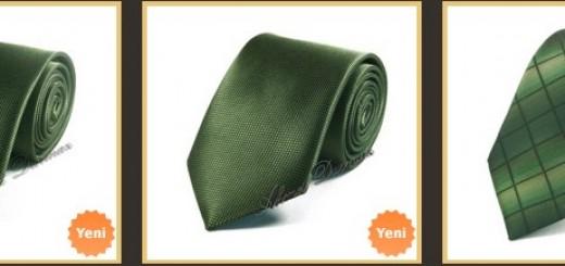 haki-yesil-ince-kravat-modelleri