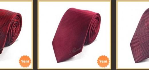kirmizi-bordo-kravatlar