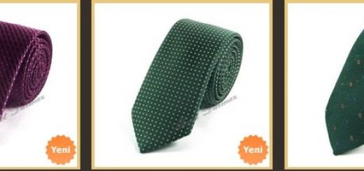 duz-sade-kucuk-desenli-ince-kravatlar