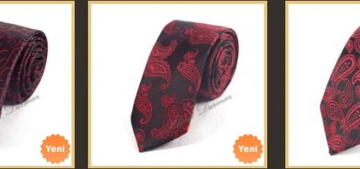 kirmizi-siyah-ince-kravatlar