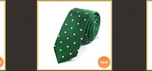 yesil-puantiyeli-ince-kravat-modelleri