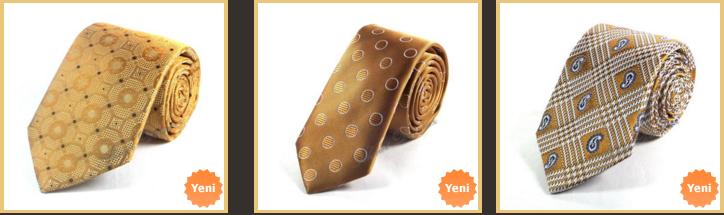 bal-rengi-ekoseli-kravatlar