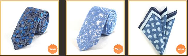 deniz-mavisi-keten-kravat-modelleri