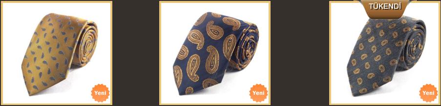hardal-rengi-sal-desenli-kravat-modelleri