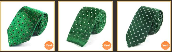 kucuk-desenli-cimen-yesili-kravat-modelleri
