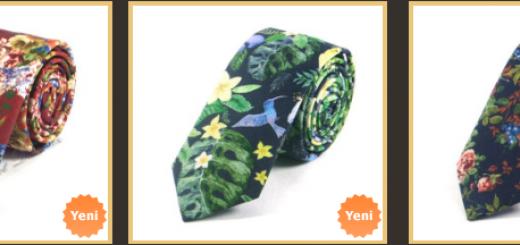 cicek-desenli-ince-spor-kravatlar