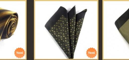 hardal-rengi-siyah-cizgili-kravat-ve-ceket-mendili