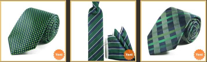 yesil-lacivert-ekose-kravat-ve-poset-mendil-kombin